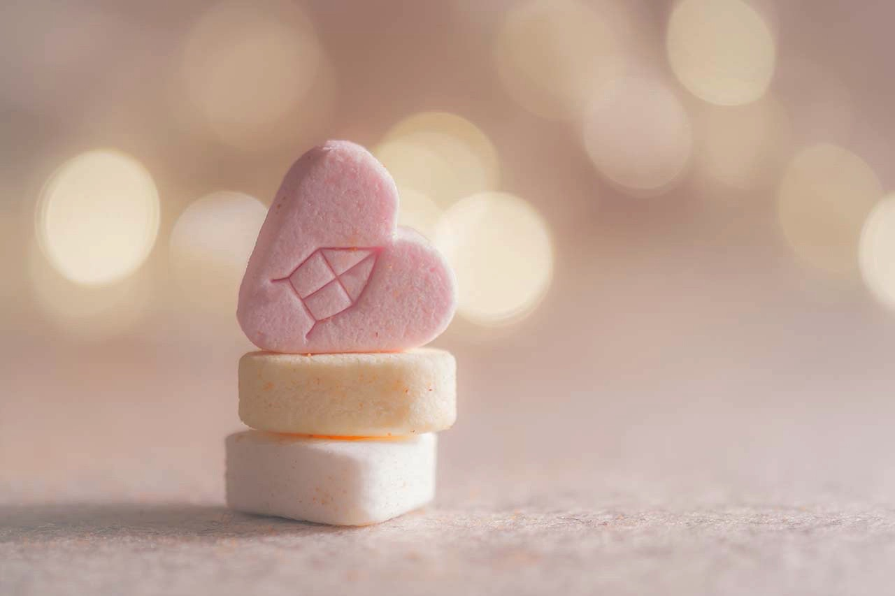 moramore I Chlamydien I Tabletten Herzform